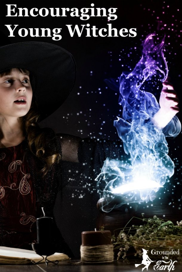 Encouraging Young Witches