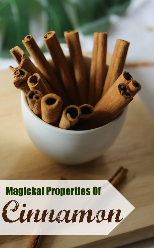 magickal properties of cinnamon