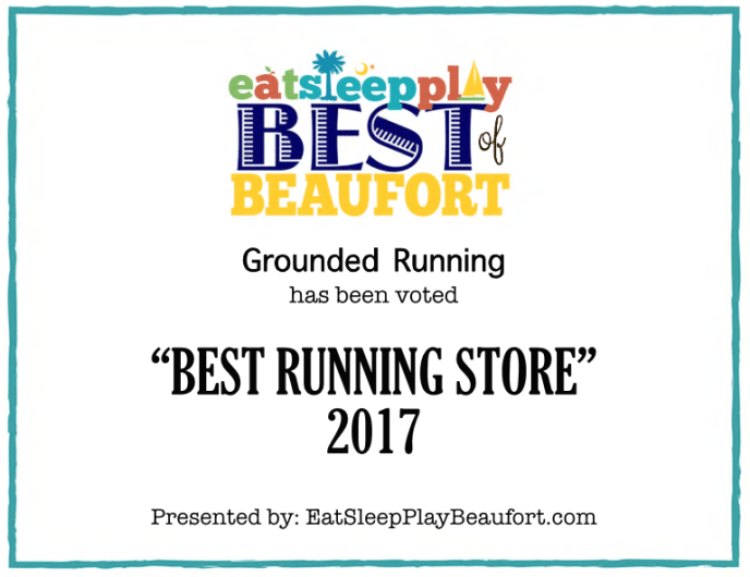 Grounded Running Beaufort Best Runnng Store 2017