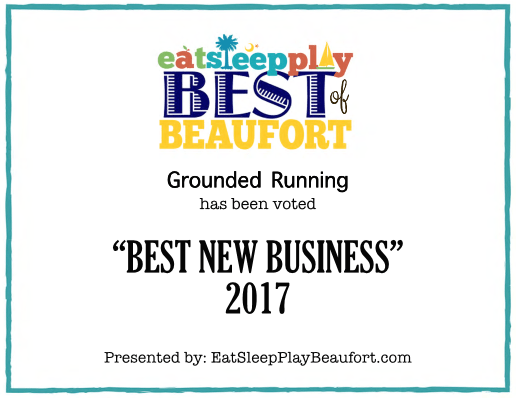 Grounded Running Beaufort Best New Business 2017