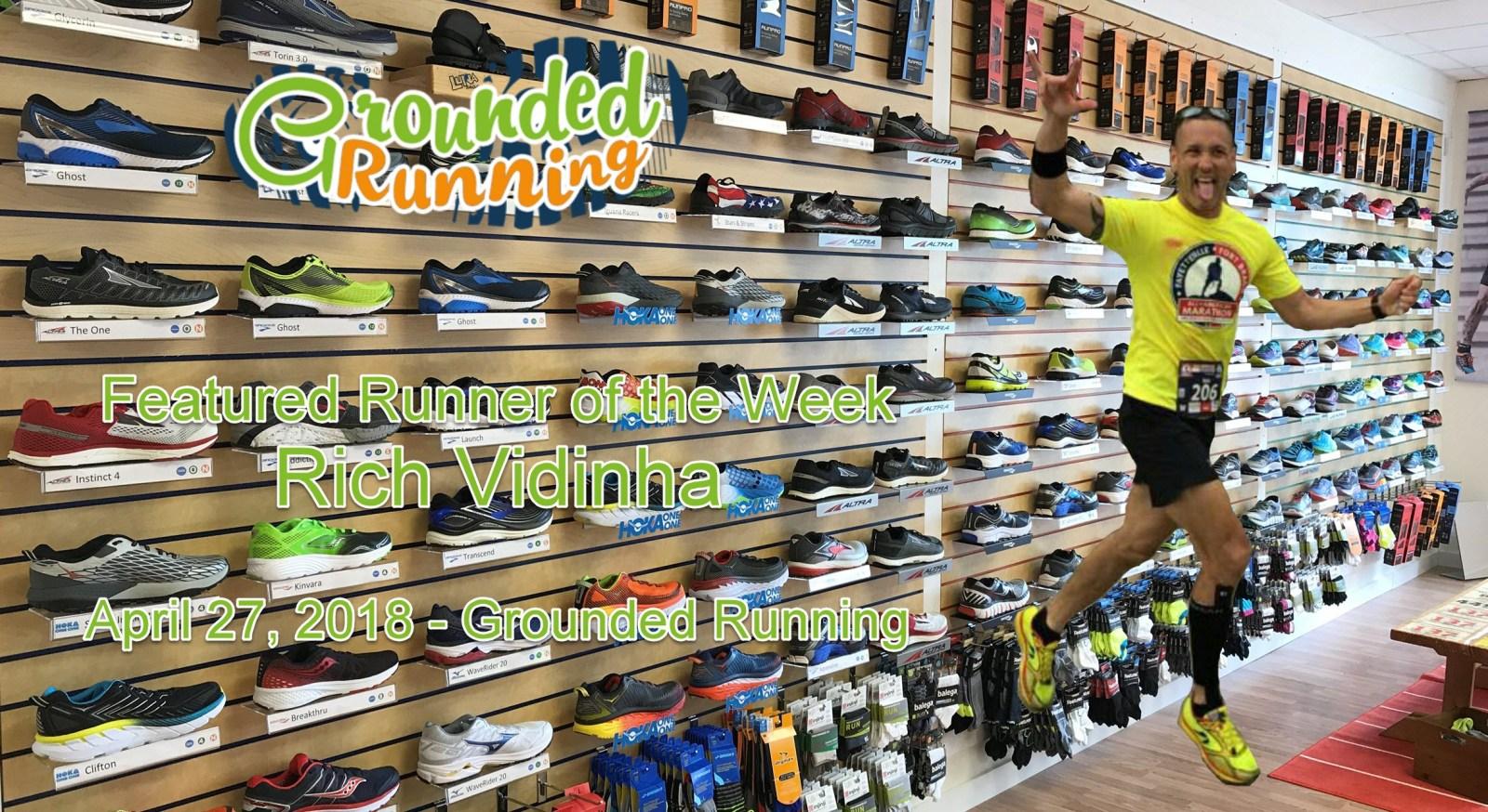 Rich Vidinha - Featured Runner of the Week