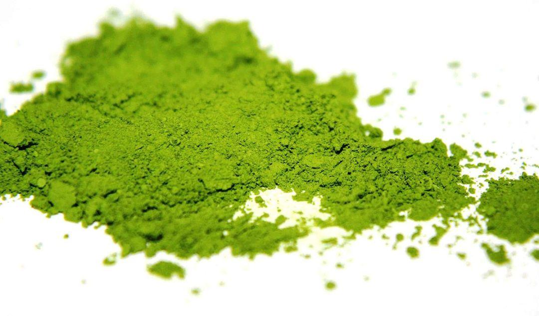 culinary Matcha is more yellowish green