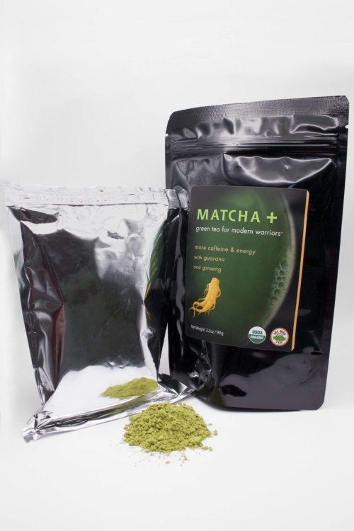 Matcha Plus Ginseng and Guarana 90g with Powder