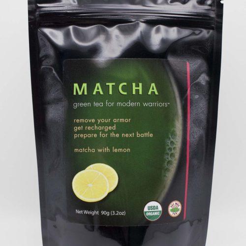 Matcha Lemon 90g Front