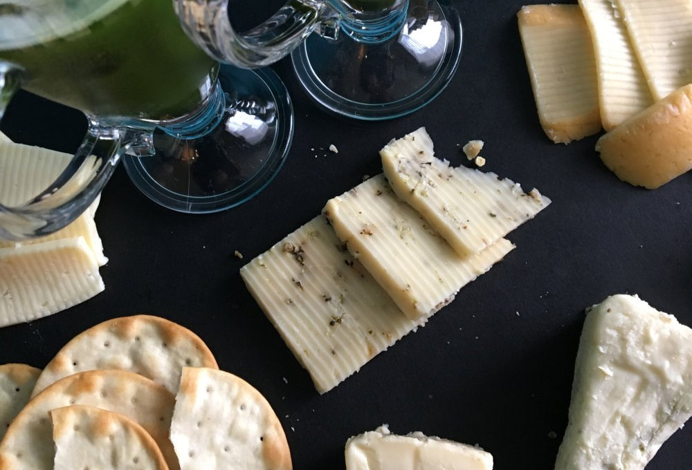 green tea and cheese pairing
