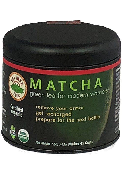Matcha Green Tea For Modern Warriors, Organic - 45 cup Gift Tin