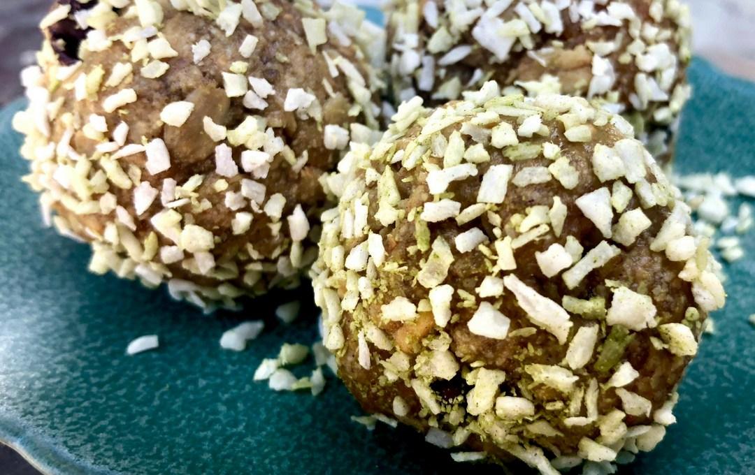Coconut Matcha Energy Bites