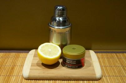 Matcha Lemon Drop ingredients