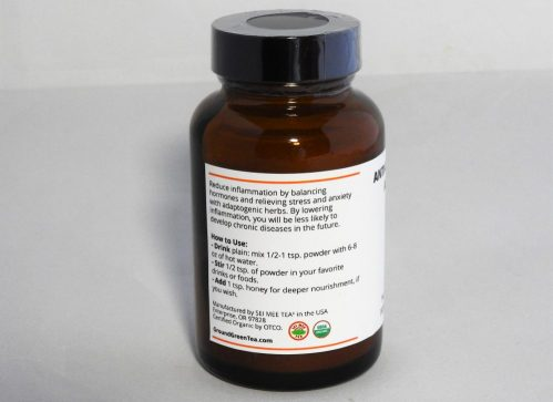 Anti-Inflammatory Adaptogen Side