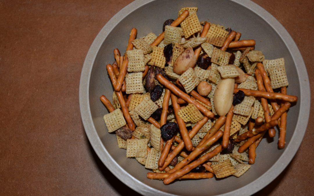 Gluten Free Matcha Cranberry Snack Mix