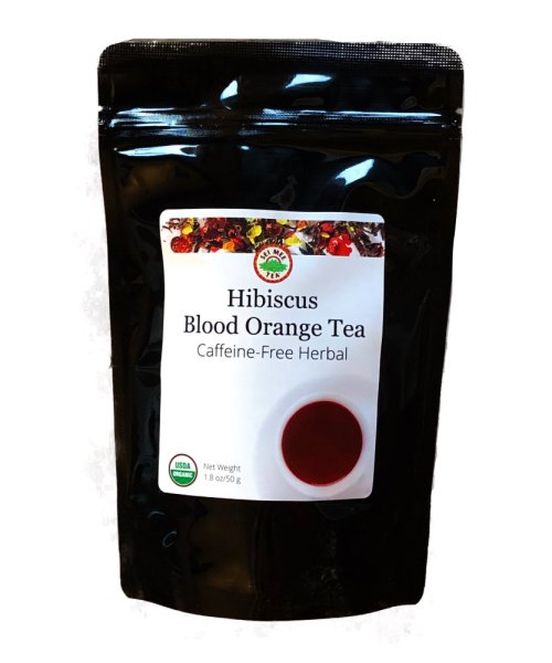 hibiscus blood orange tea