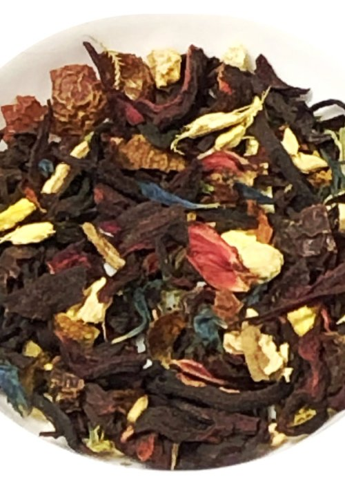 Hibiscus Blood Orange Tea, Organic