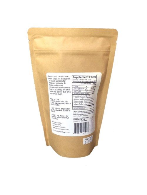 Immune Booster adaptogen 90g back