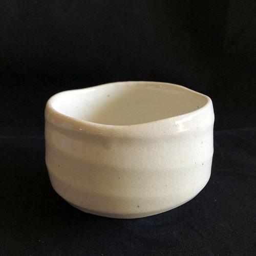 Japanese matcha bowl snow