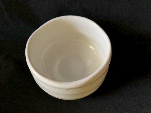 Japanese matcha bowl snow inside