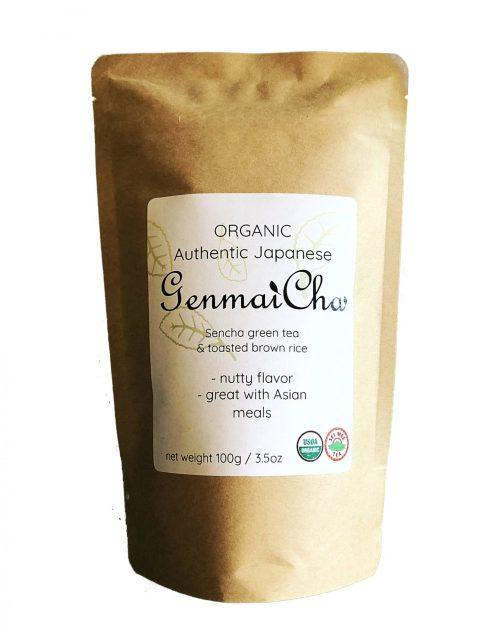 organic Genmaicha