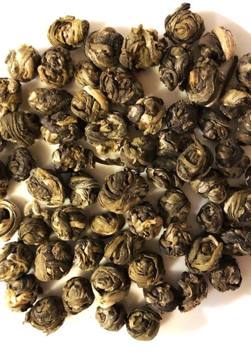 Jasmine Pearls Green Tea, Organic