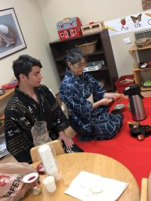 Tea Ceremony for Montessori School