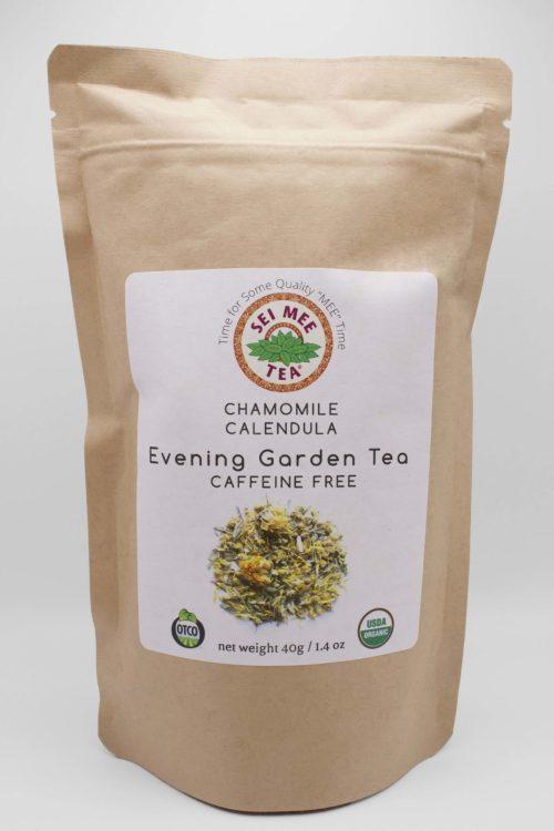Chamomile Calendula Evening Garden Tea Front