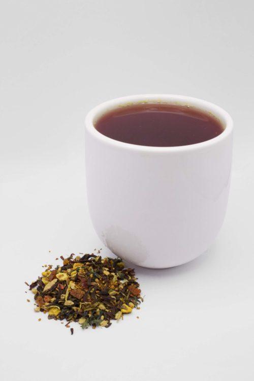 Hibiscus Blood Orange Cup of Tea