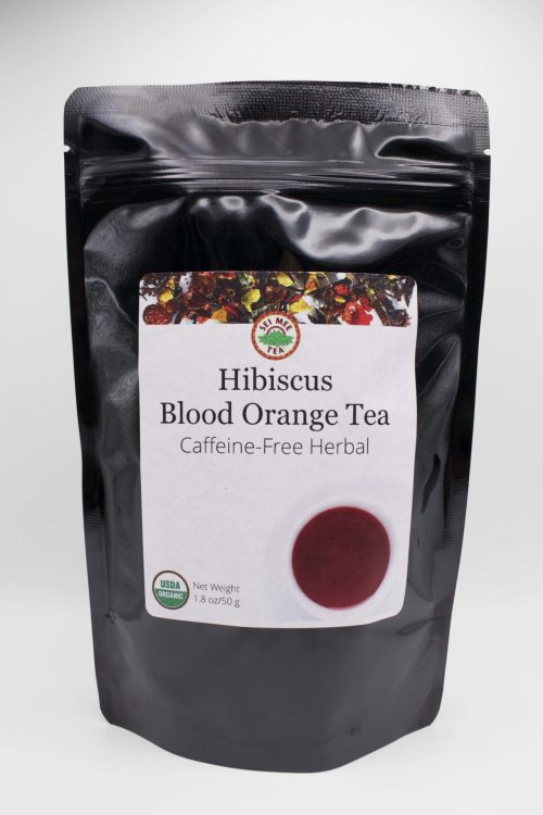 Hibiscus Blood Orange Front of Pouch