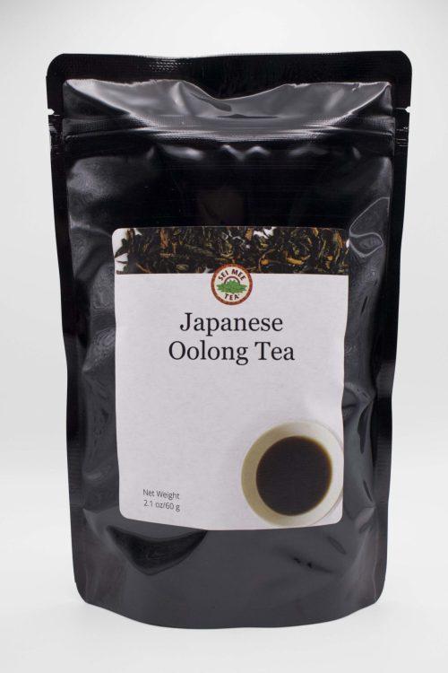 Japanese Oolong Tea Front