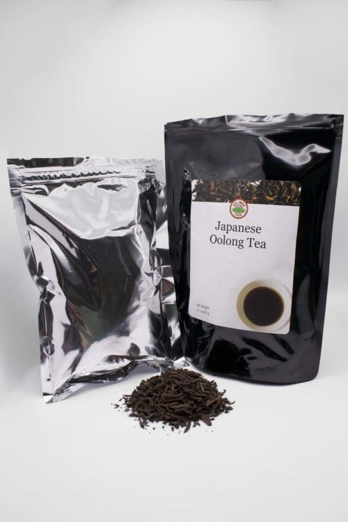 Japanese Oolong Pouch Contents