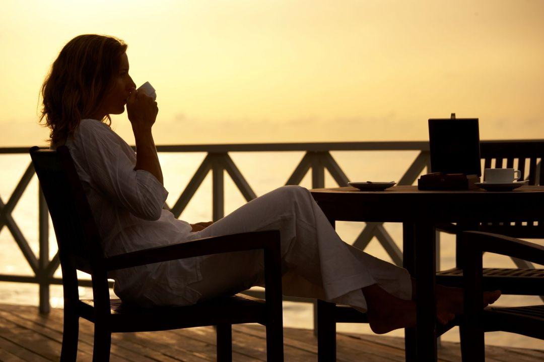 evening tea time