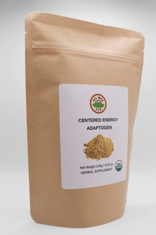 Centered Energy Adaptogen Pouch side view
