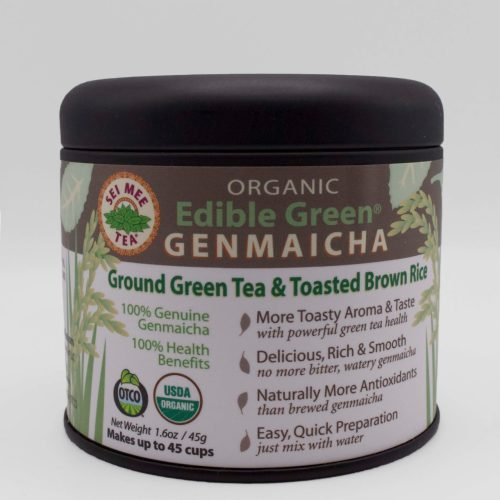 Genmaicha Gift Tin front view
