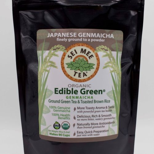 Front View Genmaicha Pouch