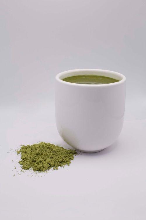 Cup of Edible Green Sencha
