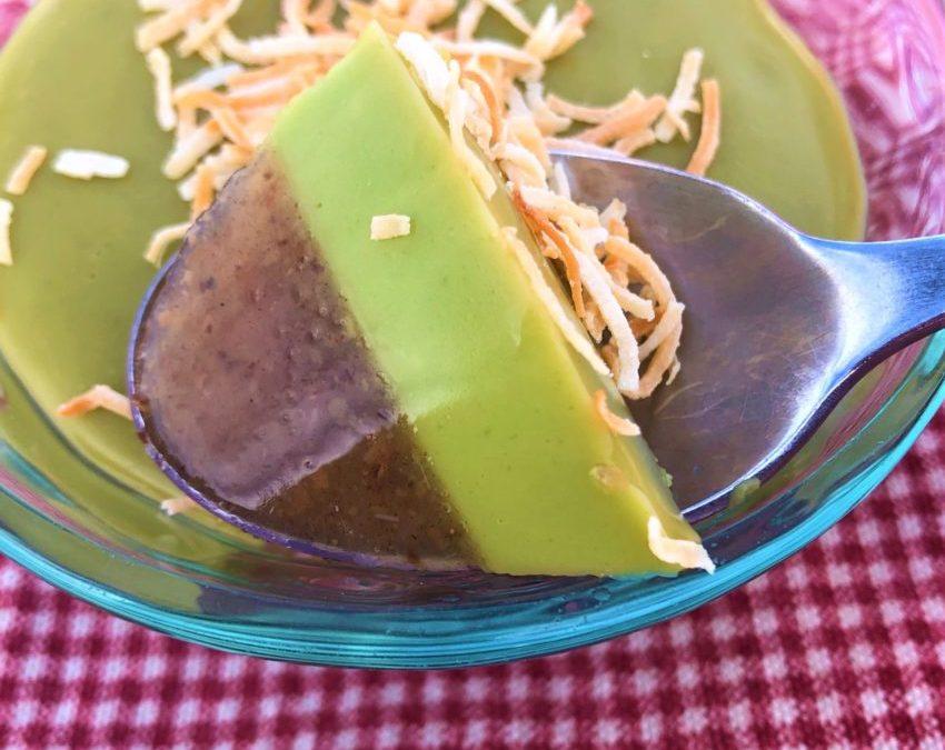 Green Tea Date Vegan Jello