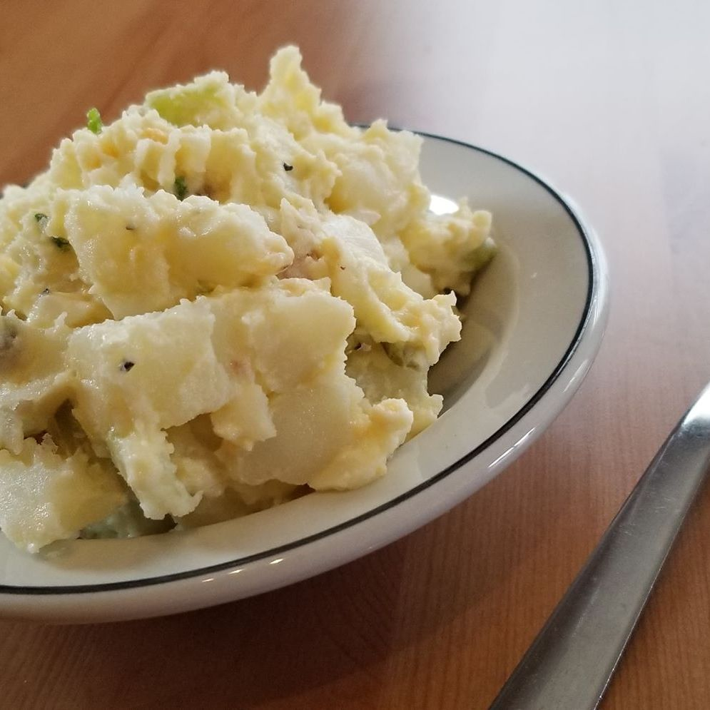 Potato & Egg Salad available in small or large portion.