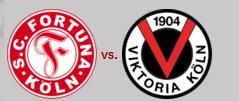Fortuna Köln - Viktoria Köln,  De kölsche Derby
