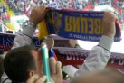 Fans at Russia vs Sweden.