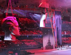The Mosfilm-themed segment of the Sochi 2014 Opening Ceremony.