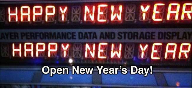 Image for OPEN Regular Hours New Year's Day – Friday January 1
