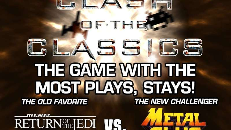 Image for Clash of the Classics: Return of the Jedi VS. Metal Slug