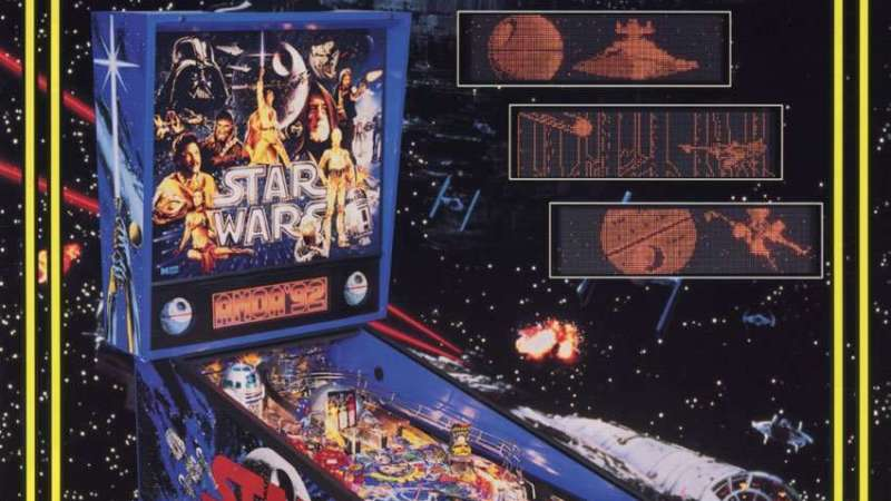 Image for New in the Arcade: Star Wars Pinball (1992) & Star Wars Episode 1 Pinball (1999)