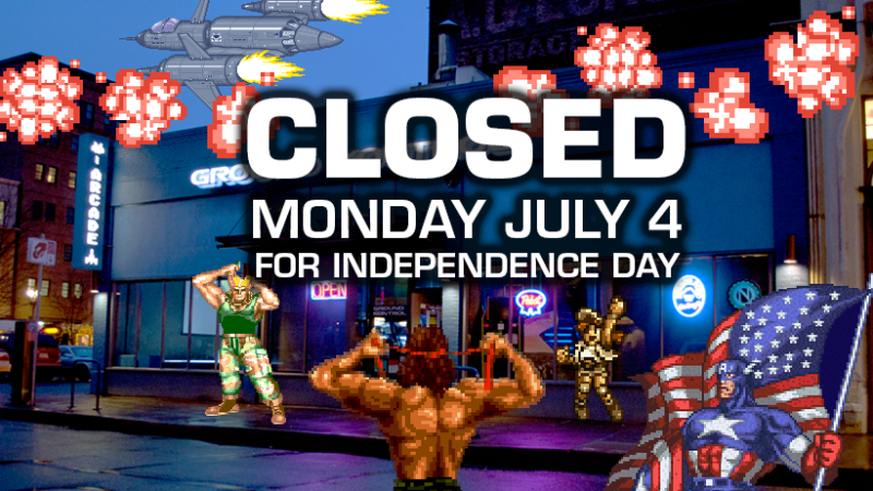 Image for CLOSED For Independence Day – Monday 7/4
