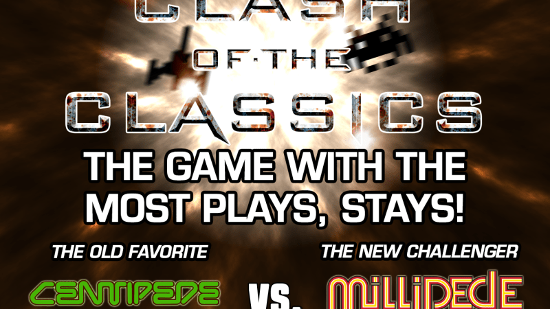 Image for Clash of the Classics: Centipede VS Millipede