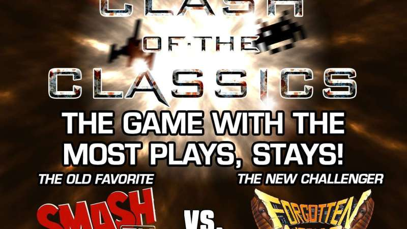 Image for Clash of the Classics: Smash TV VS Forgotten Worlds