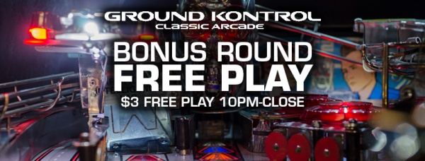 Bonus Round Free Play Party - Tuesday 8/16 10pm-close