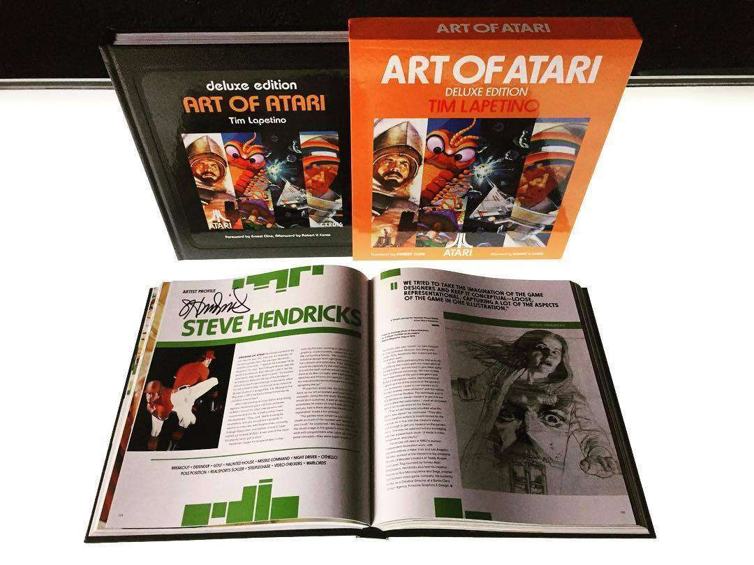 Art of atari array available now art of atari deluxe edition signed ground kontrol rh groundkontrol com fandeluxe Images