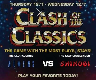 Clash of the Classics: Aliens VS Shinobi