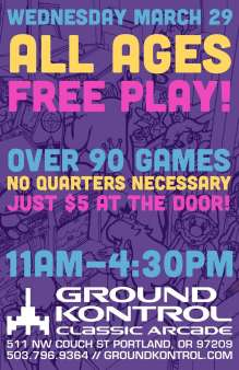 All Ages Free Play Spring Break 2017