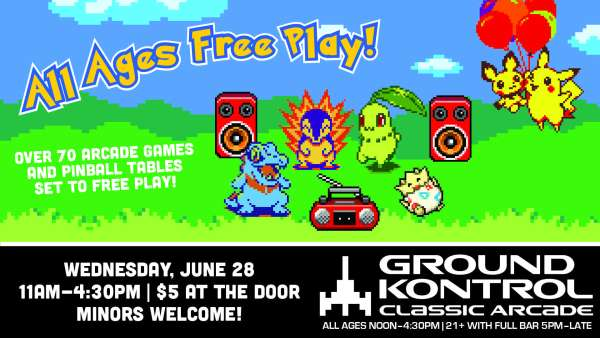 All Ages Free Play!