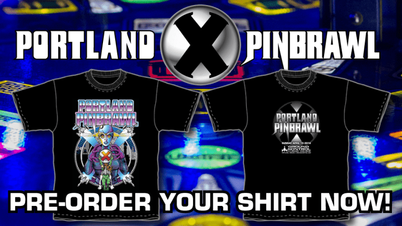 Image for Pre-Order Your Pinbrawl X T-Shirt Today!