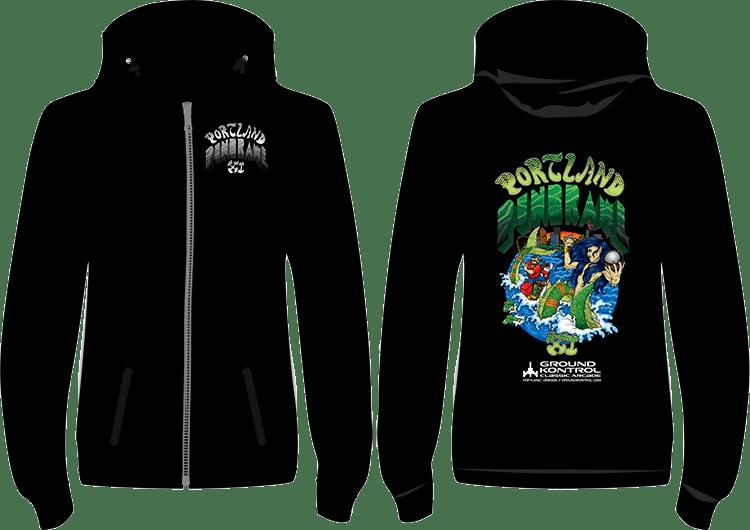 Portland Pinbrawl XI Hoodie Preview